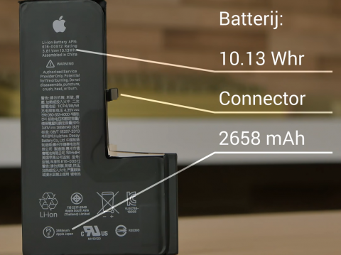 battery iPhone XS